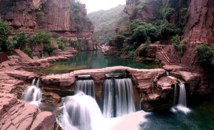 یک مکان عجایب طبیعی در چین