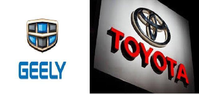 همکاری تویوتا و جیلی برای فراوری خودروهای هیبریدی