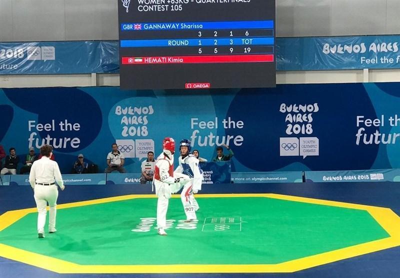 المپیک جوانان 2018، قطعی شدن دو مدال برنز در تکواندو
