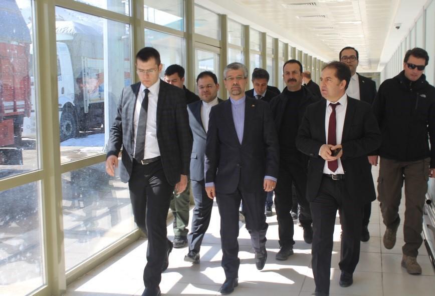 سرکنسول ایران در ارزروم ترکیه از گمرک کاپی کوی دیدار کرد