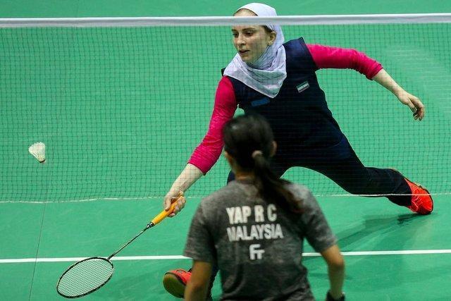 حذف تیم دو نفره ایران از مسابقه های بدمینتون اندونزی