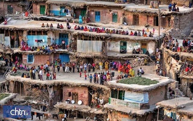 آخرین وضعیت مرمت بافت روستای پلکانی و تاریخی سرآقاسید