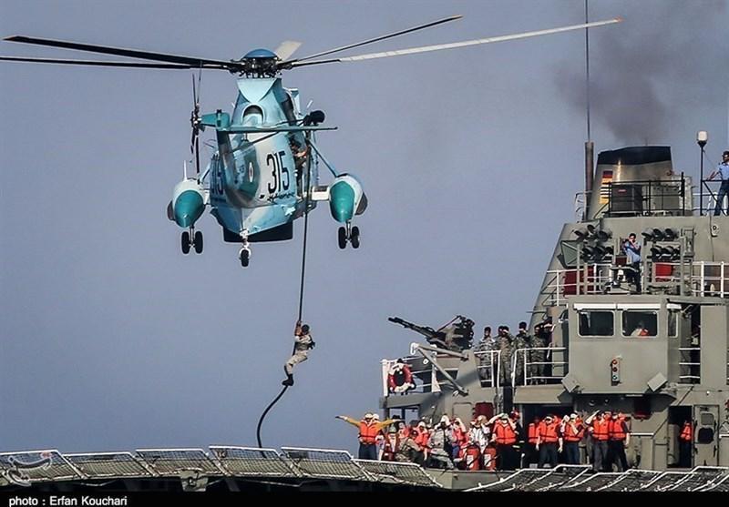 اخبار رزمایش، مین ریزی در دریای عمان توسط ارتش