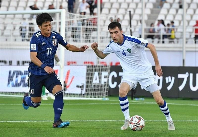جام ملت های آسیا، تساوی یک نیمه ای ژاپن و ازبکستان، عمان و ترکمنستان مساوی به رختکن رفتند