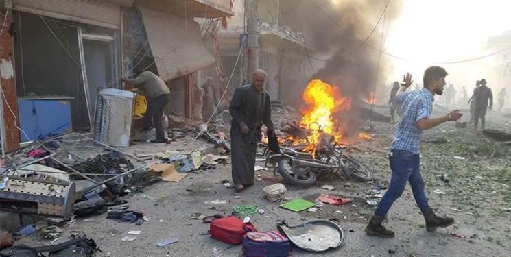 انفجار در بازار شهر تل ابیض سوریه؛ دستکم 19 نفر کشته شدند