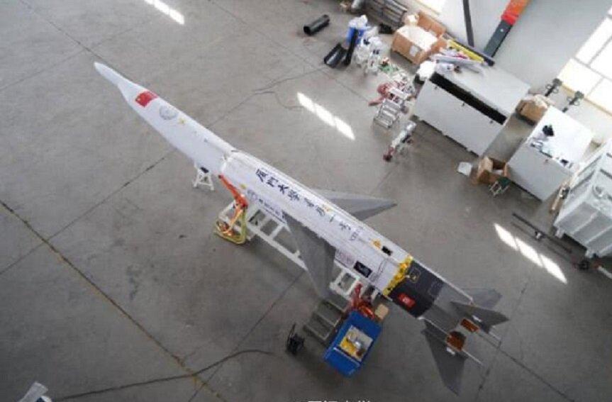 چین موشک بازگشت پذیر آزمایش کرد