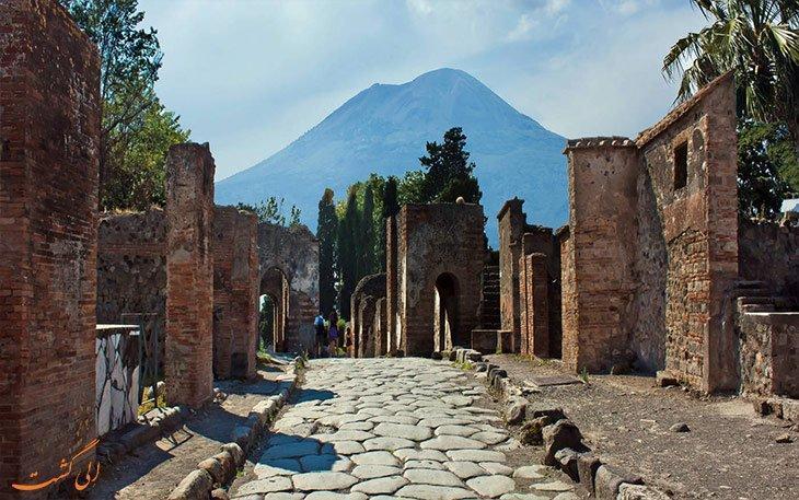 پمپئی، شهری که در اعماق تاریخ مدفون شد
