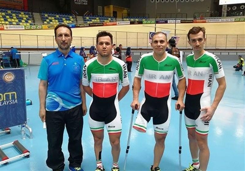 دوچرخه سواری پیست قهرمانی آسیا، حادثه برای رکابزن معلول ایران