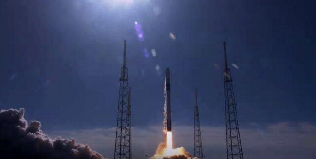 اسپیس ایکس 2.5 تن تجهیزات را روانه ایستگاه فضایی کرد