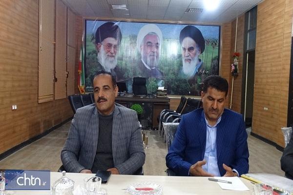 نشست سرپرست اداره کل کهگیلویه و بویراحمد با شهردار و شورای شهر چرام