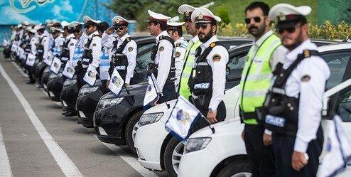 شروع طرح ترافیکی زمستان در کرمانشاه، حضور 140 تیم ثابت و سیار پلیس در طرح