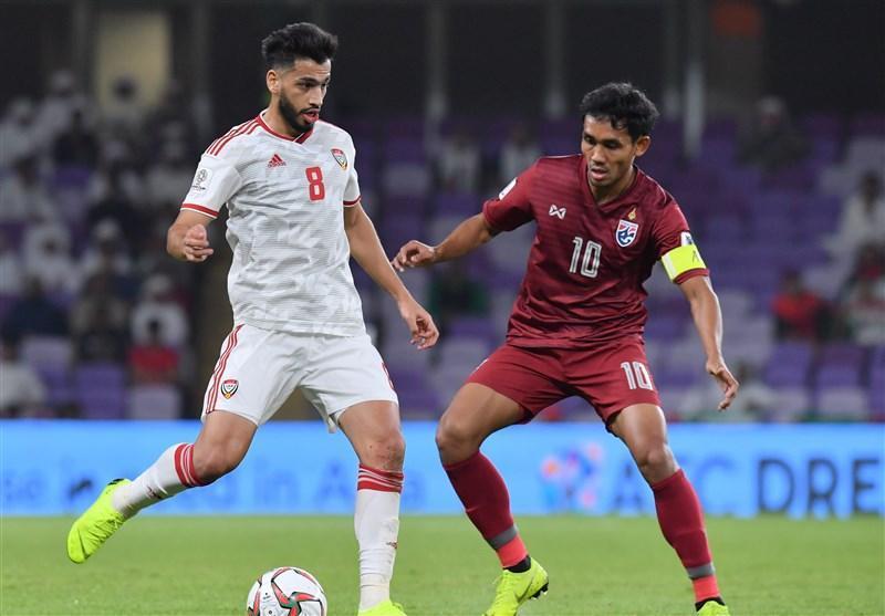جام ملت های آسیا، توقف میزبان مقابل تایلند و تساوی هند و بحرین در نیمه اول