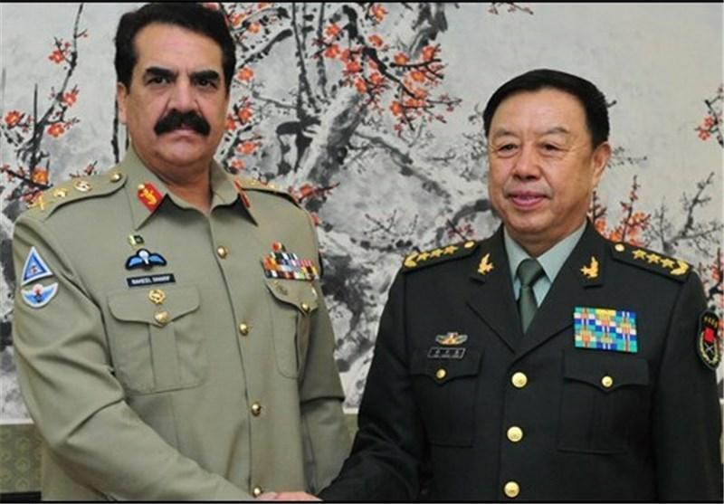 سفر فرمانده ارشد نظامی چین به هند و پاکستان