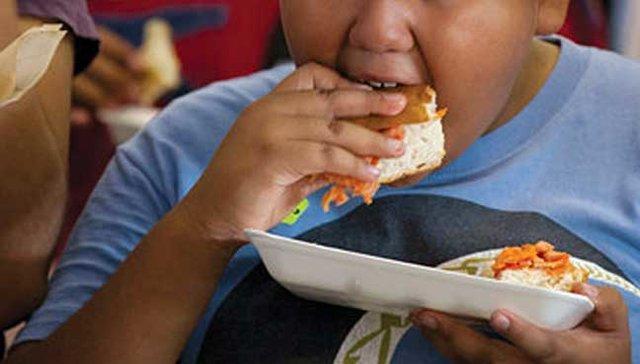 بحران چاقی بچه ها در منطقه آسیا - پاسفیک