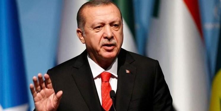 اردوغان: عملیات چشمه صلح، عزم آنکارا برای مقابله با تروریسم را اثبات کرد