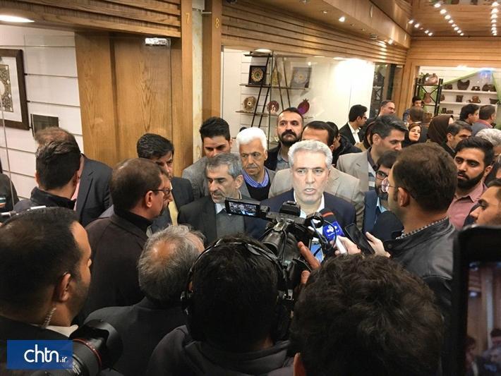 افتتاح اولین هایپر عرضه صنایع دستی در اصفهان با حضور دکتر مونسان