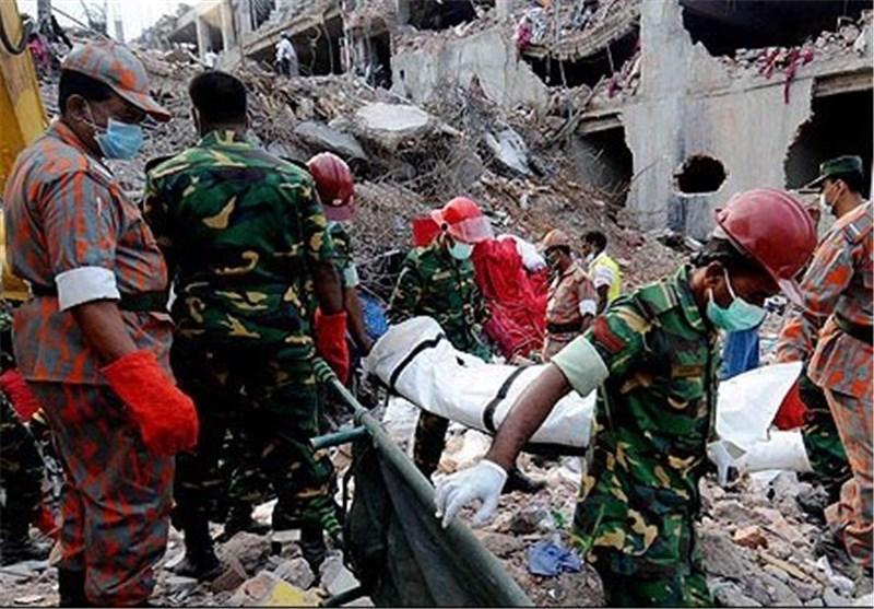 آمار تلفات ریزش ساختمان در بنگلادش از مرز 800 کشته گذشت