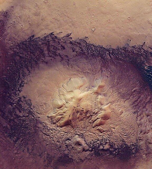 زخم های مریخ حرف می زنند