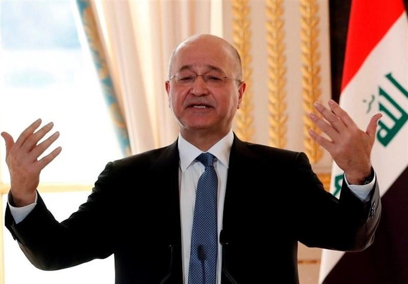 عراق، نشست گروه های کُرد در منزل برهم صالح برای رای اعتماد به کابینه الکاظمی