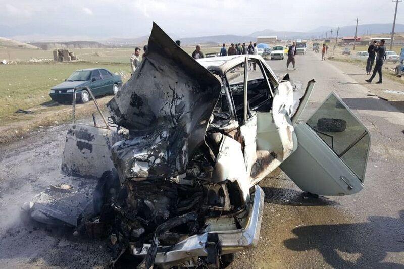 خبرنگاران واژگونی سه خودرو در جاده های زنجان یک کشته و سه مصدوم برجا گذاشت