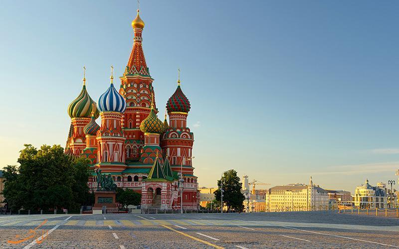 معروف ترین کلیساهای مسکو که ارزش حداقل یکبار دیدن را دارند!