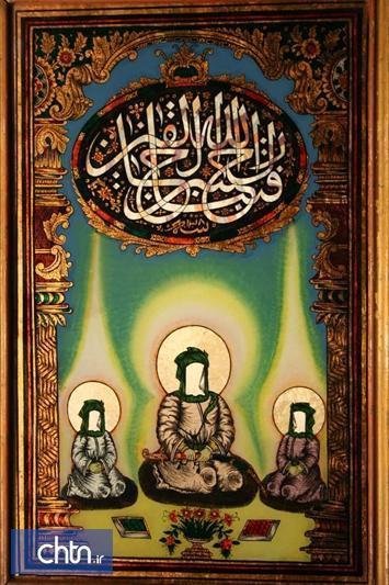 نمایشگاه مجازی جلوه امیرالمومنین در آثار نقاشی پشت شیشه برگزار می شود