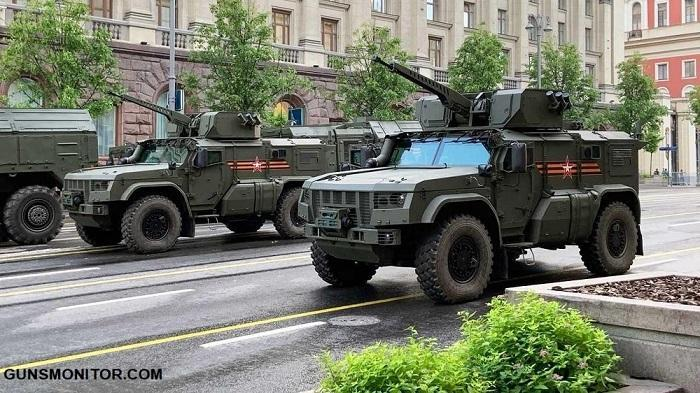 خودروهای نظامی برتر روسیه در مراسم روز پیروزی سال 2020 (