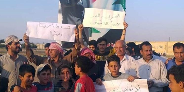مردم شرق سوریه علیه تحریم های آمریکا تظاهرات کردند
