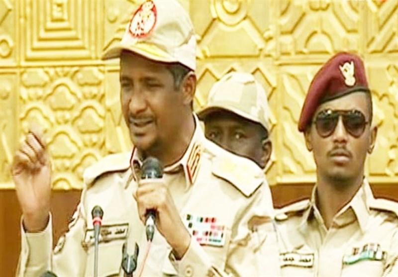 حمیدتی: بعضی به دنبال فتنه انگیزی در سودان هستند