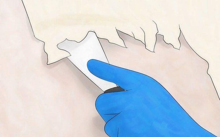 آموزش جداسازی کاغذ دیواری