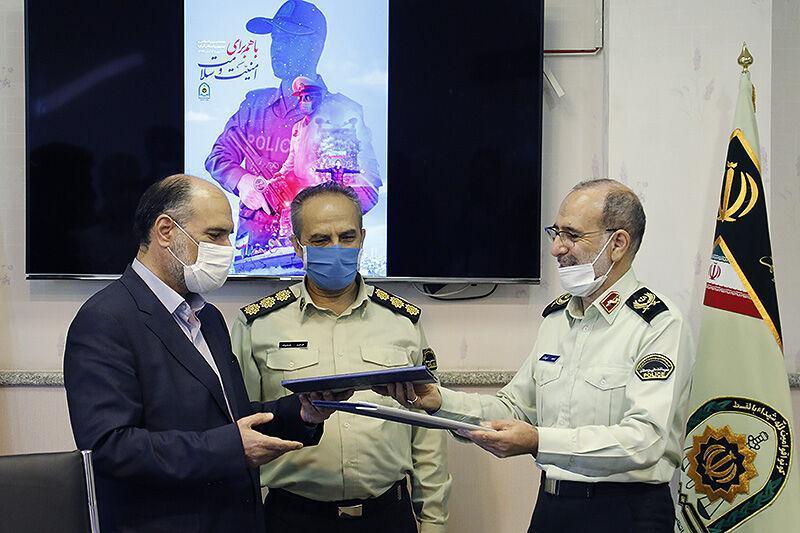 خبرنگاران ناجا و وزارت فرهنگ و ارشاد اسلامی تفاهمنامه همکاری امضا کردند