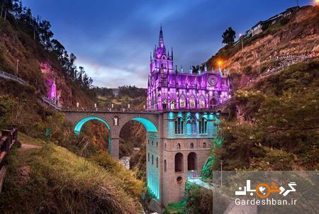لاس لاخاس، از زیباترین کلیساهای دنیا در کلمبیا، عکس