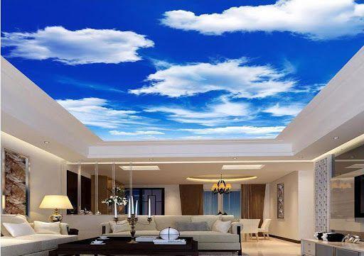 طراحی و دکوراسیون داخلی خانه و سقف