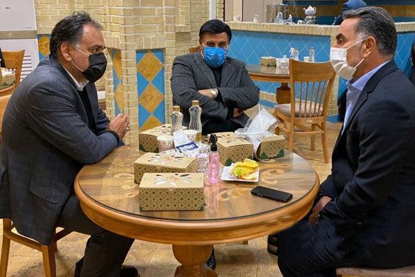 جلسه مدیرعامل باشگاه استقلال با محمود فکری