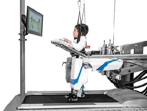 توانبخشی بچه ها دچار فلج مغزی با روبات هوشمند