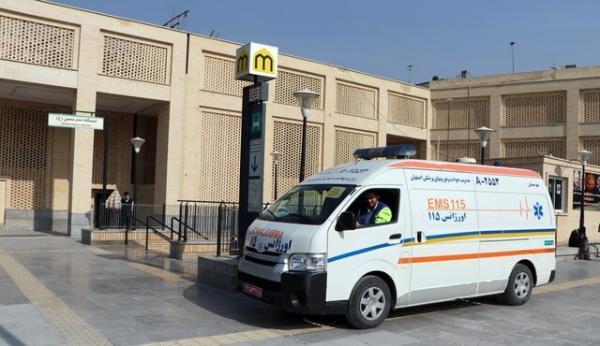 25 درصد ناوگان اورژانس اصفهان قدیمی و درحال بازسازی است