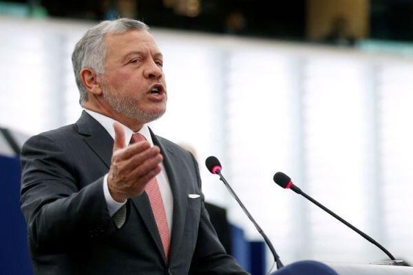 پادشاه اردن: فتنه توسط دست های خارجی و داخلی حمایت شد