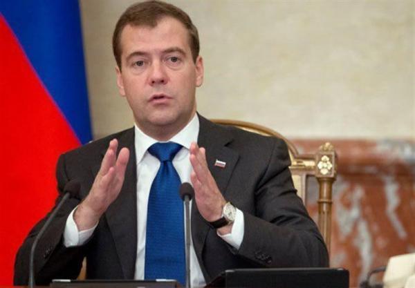 مدویدیف: روسیه تمایل ندارد درگیر هیچ مناقشه نظامی گردد