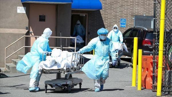تلفات کرونا در آمریکا به 580 هزار تن رسید