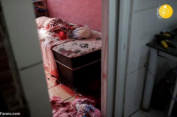 (تصاویر) عملیات خونین علیه قاچاقچیان مواد مخدر در برزیل