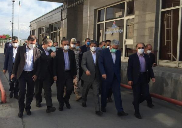 بازدید رزم حسینی از منطقه آزاد و پایانه مرزی بازرگان، گام های اساسی برای روان سازی و تسهیل در تردد و ترانزیت بزرگترین پایانه مرزی کشور