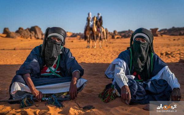 منطقه شگفت انگیز صحرای بزرگ آفریقا در الجزایر