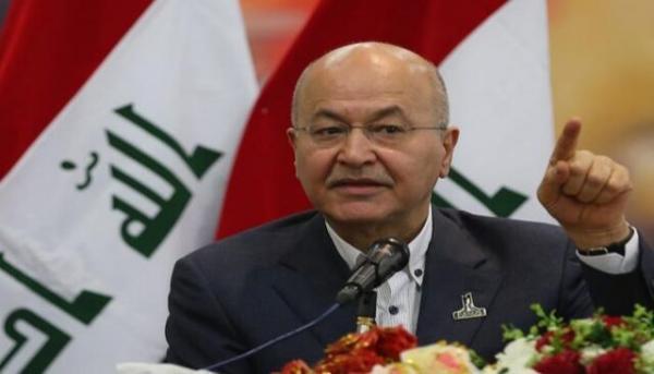 برهم صالح حمله به نیرو های پیشمرگ و اقدامات یکجانبه ترکیه را محکوم کرد