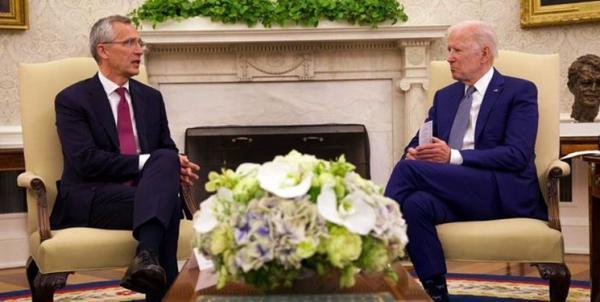اظهارات ضد چینی رئیس ناتو پس از ملاقات با بایدن