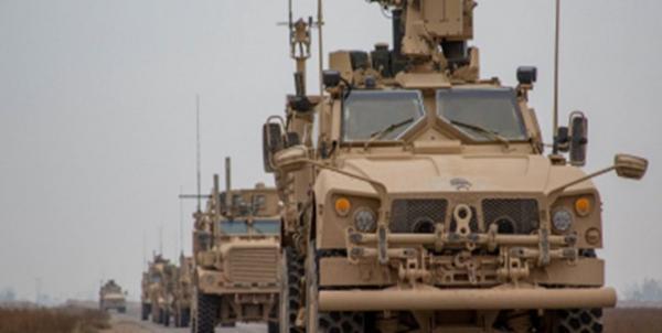 کاروان نظامی آمریکا وارد سوریه شد