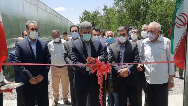 افتتاح 9 طرح کشاورزی در اهر