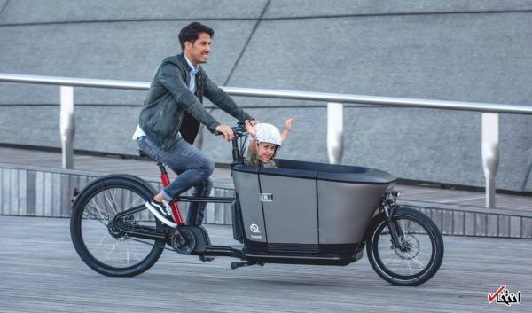دوچرخه برقی خانوادگی