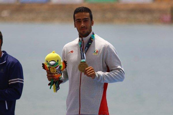 محمدنبی رضایی در کانوی 500 متر هم چهارم دنیا شد